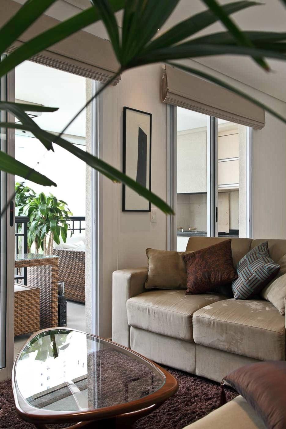 Reforma do apartamento de 60m² (Putti) - arquiteto Flavio Castro