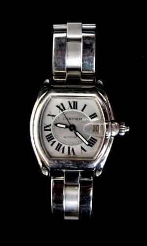 10.abr.2012 - Relógio da marca Cartier dado pelo apresentador Faustão a Clodovil. O lance inicial da peça é R$ 3.000