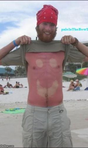 Site paleisthenewtan.com reúne fotos dos bronzeados mais bizarros do mundo