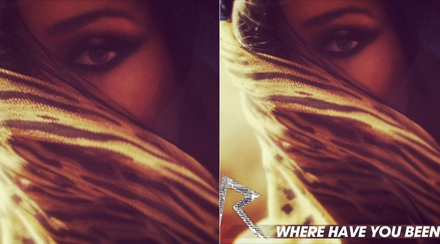 Capa do novo single de Rihanna, 