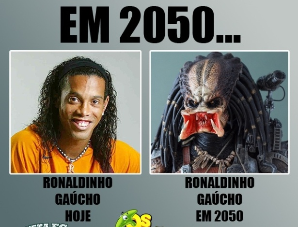 Corneta FC: Ronaldinho em 2050