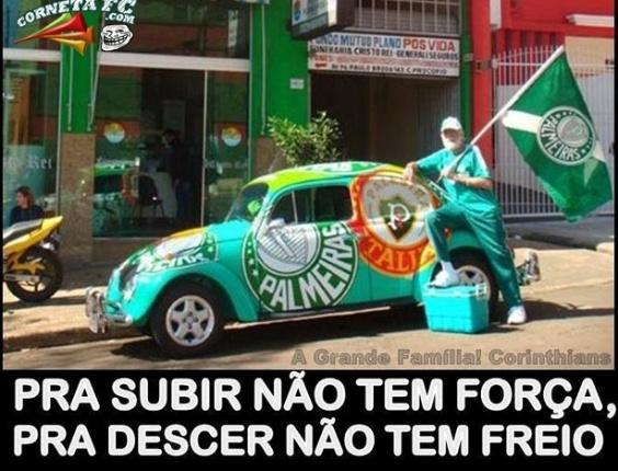 Corneta FC: Sabe qual é a semelhança entre o Palmeiras e um carro velho?