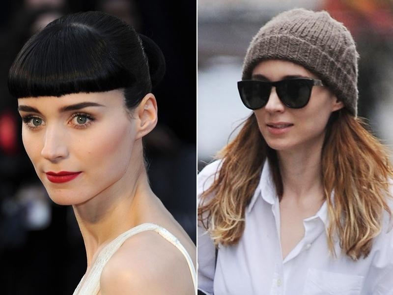 Abril: Rooney Mara se despediu do visual andrógino de sua personagem Lisbeth Salander em