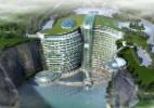 China anuncia construção de hotel de luxo abaixo do nível do solo - Divulgação/Shimao Property Group
