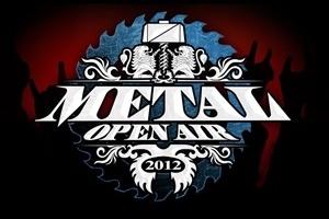 O logo da edição de 2012 do festival Metal Open Air