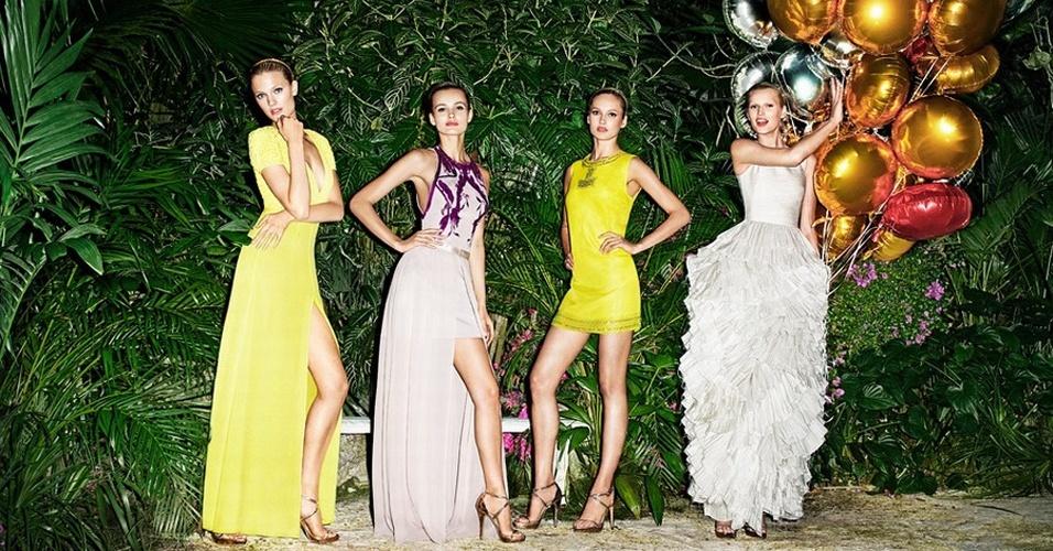 Campanha da linha Conscious Collection da H&M para pré-Verão 2012