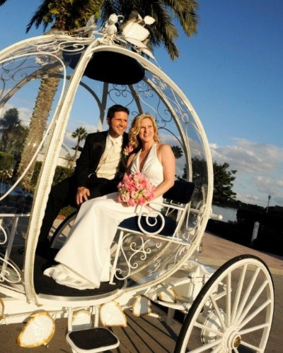 "Casamento na Disney (foto do livro ""Destination Wedding"")"