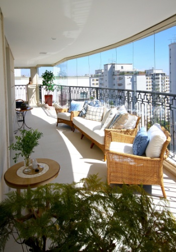 terraco jardim butanta:Com 300 m², apartamento paulistano ganha área de lazer na varanda