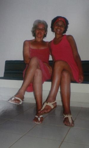 Isabel Cristina, 51, e Jéssica Camila, 22, acusadas, junto com Jorge Negromonte, 50, de matar, esquartejar e praticar canibalismo com duas mulheres em Guaranhuns (PE)