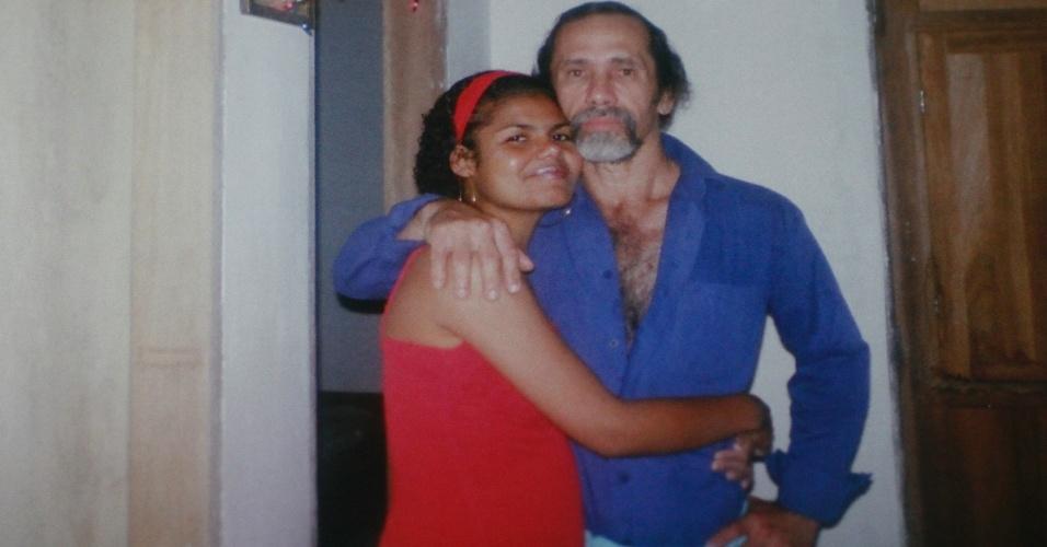 Jorge Negromonte, 50, e Jéssica Camila, 22, acusados, junto com Isabel Cristina, 51, de matar, esquartejar e praticar canibalismo com duas mulheres em Guaranhuns (PE)