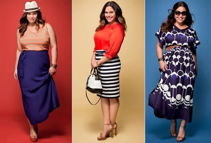 Kaela Humphries, ex-cunhada de Kim Kardashian, em sua primeira campanha como modelo plus size