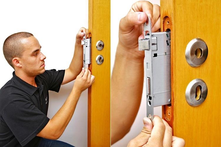 Passo a passo - instalação de fechadura (2012)