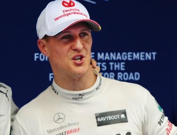 Michael Schumacher comemora dobradinha da Mercedes na China; alemão vai largar em segundo