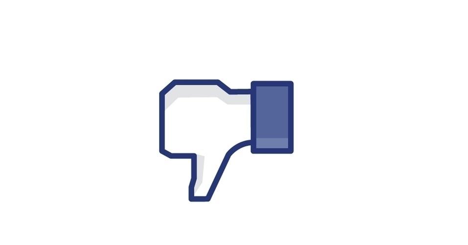 Botão não curtir no Facebook, botão dislike no Facebook
