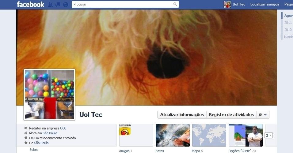 Login No Seu Facebook E Acesse Sua P  Gina De Perfil Reprodu    O Mais