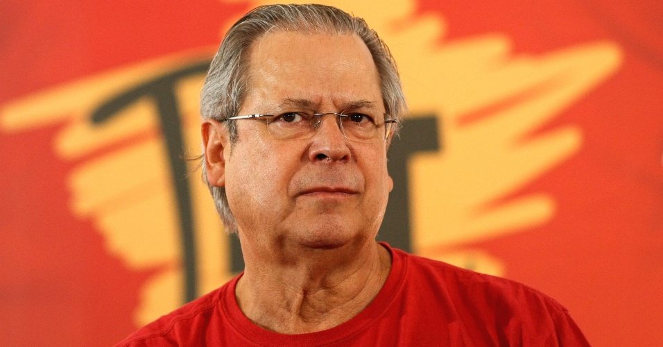 Jos&#233; Dirceu, ex-ministro da Casa Civil, um dos acusados de participar do Mensal&#227;o