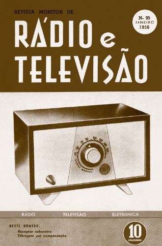 Revista Rádio e Televisão, de 1956
