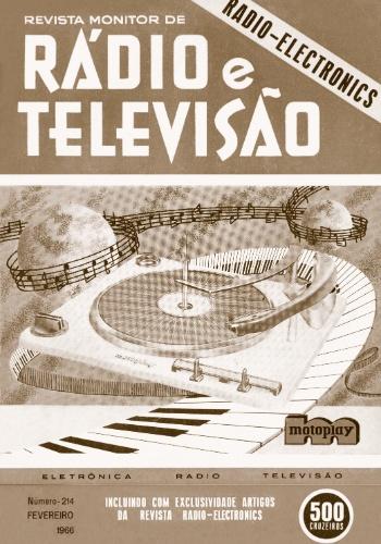 Revista Rádio e Televisão, de 1966