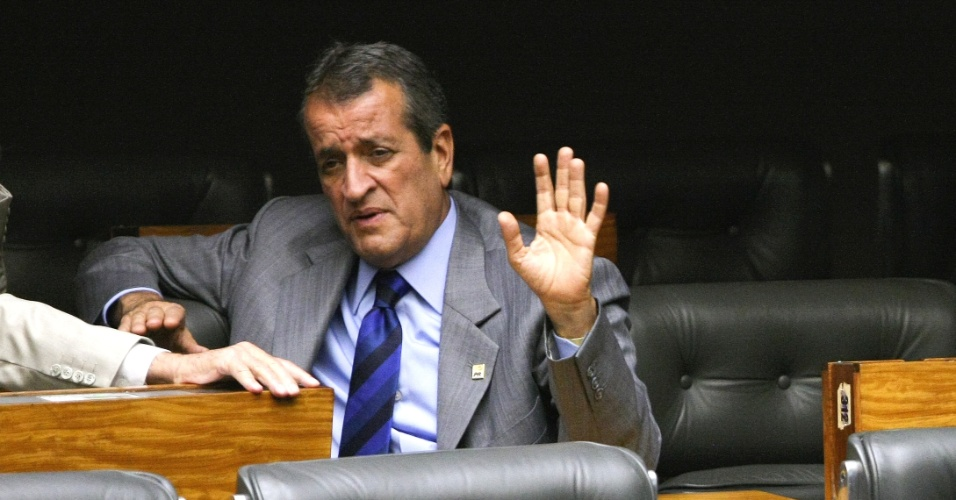 Valdemar Costa Neto, deputado federal do PR-SP, um dos acusados de participar do Mensal&#227;o