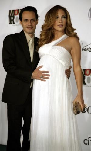 Jennifer Lopez, Marc Anthony, grávida