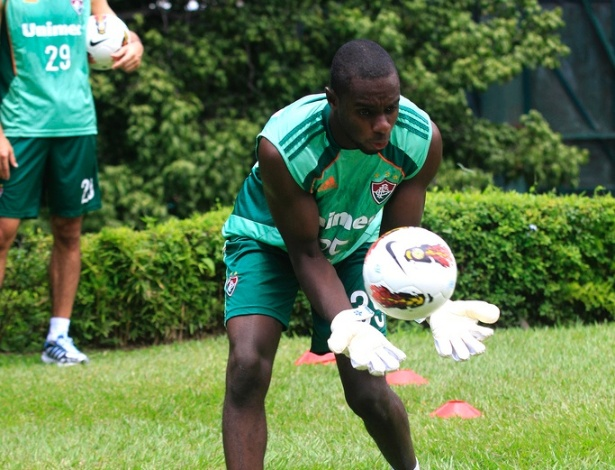 Klever, goleiro do Fluminense