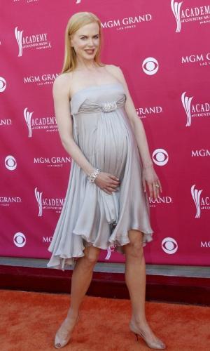 Nicole Kidman grávida, 2008, sunday rose