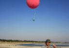 Google Earth passa a usar imagens aéreas tiradas de balões e pipas - Divulgação