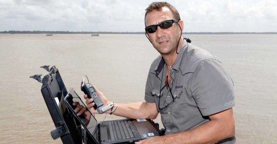 """O explorador Patrick Deixonne decidiu realizar uma expedição científica para alertar o mundo sobre a """"catástrofe ecológica"""" em curso"""