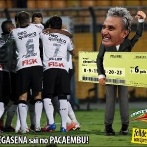 Corneta FC: Megasena sai no Pacaembu