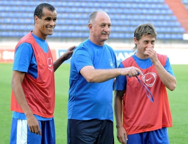 Rivaldo e Felipo no Bunyodkor