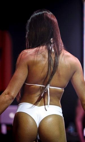 Candidatas esbanjaram beleza e corpos definidos