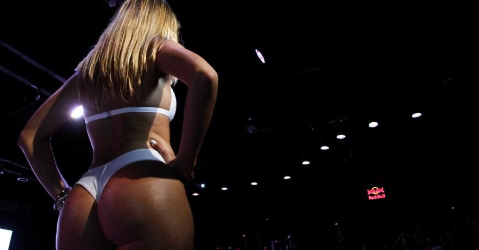 Corpos definidos desfilaram pelo concurso