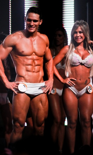 Gil, Garota Fitness SP 2011, participou do concurso