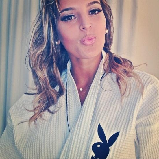Mari Paraíba, jogadora do Minas, posa para ensaio da Playboy