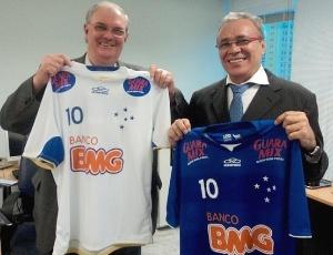 Gilvan Tavares e Raimundo Barreto, presidente da Mix do Brasil, selaram acordo nesta sexta-feira