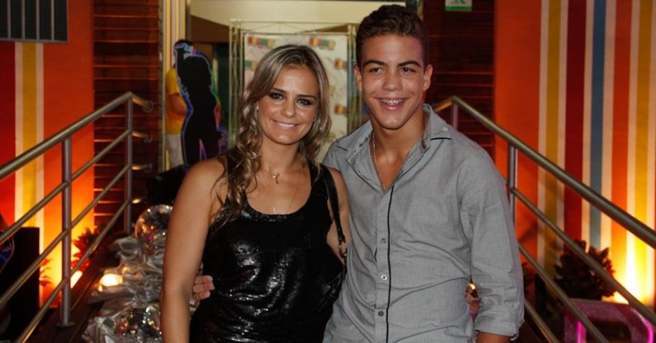 Ronald, filho de Milene Domingues e Ronaldo, comemora 12 anos com festa em São Paulo (20/4/2012)