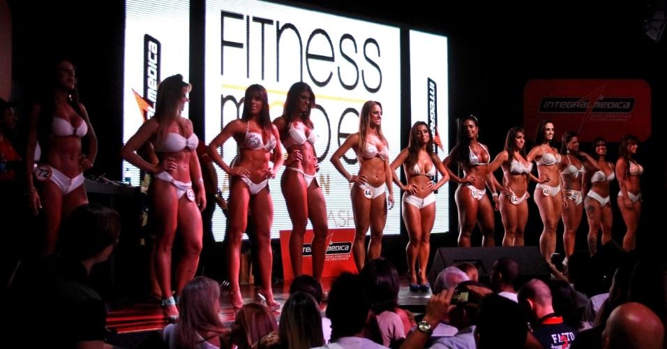 Semifinalistas do Garota Fitness Brasil 2012
