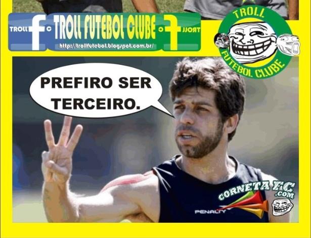 Corneta FC: Juninho cansado do vice