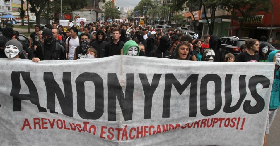Marcha contra a Corrupção em Curitiba