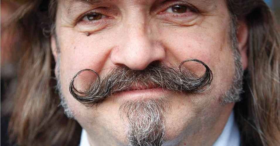 Competidor do Melhor Bigode de 2012