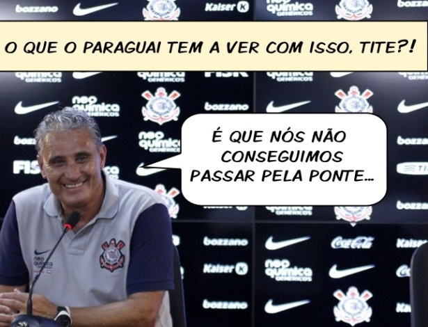 CornetaFC: Tite diz que eliminao no Paulista no atrapalha Corinthians na Libertadores