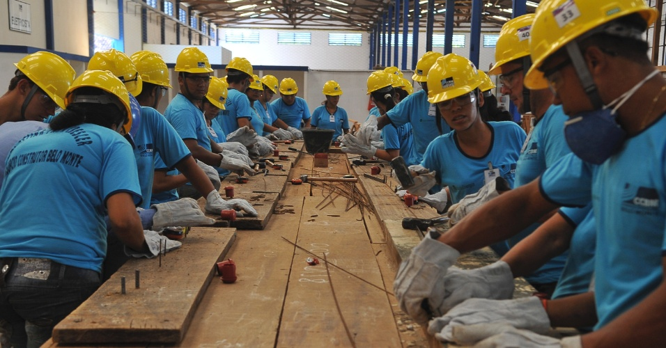 Dos 3.000 profissionais formados no centro de capacitação de Belo Monte, 26% são mulheres