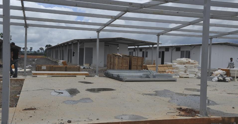 Os dormitórios do canteiro definitivo de Belo Monte não terão cascalho no chão nem gerador provisório