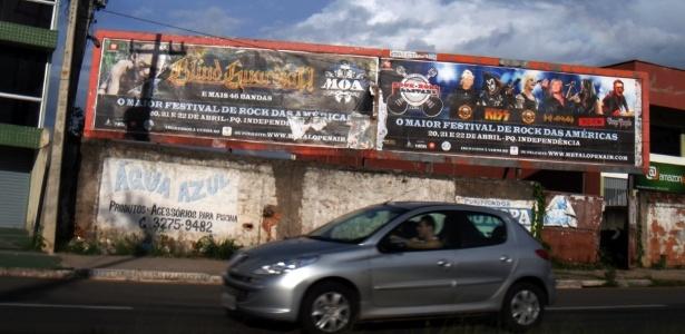 Outdoor na cidade prometia o Metal Open Air como o maior festival das Américas