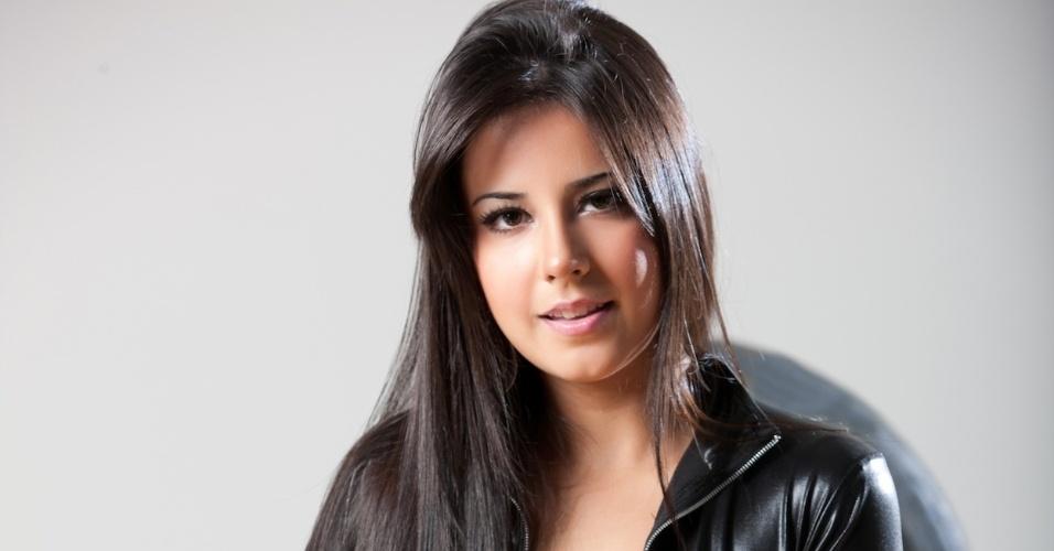 A modelo Nayara Franchi está no concurso que terá a final nos dias 28 e 29 de abril, durante a corrida de Fórmula Indy em São Paulo