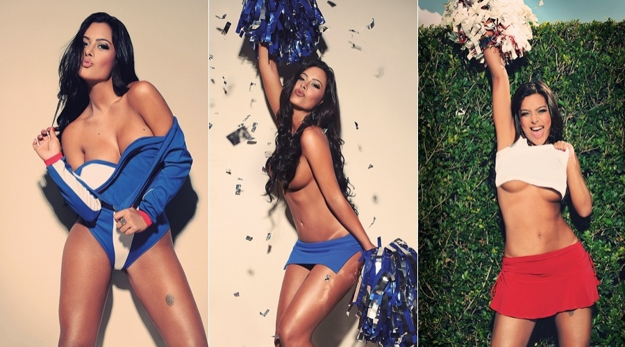 A modelo paraguaia Larissa Riquelme é a estrela da edição de maio da revista
