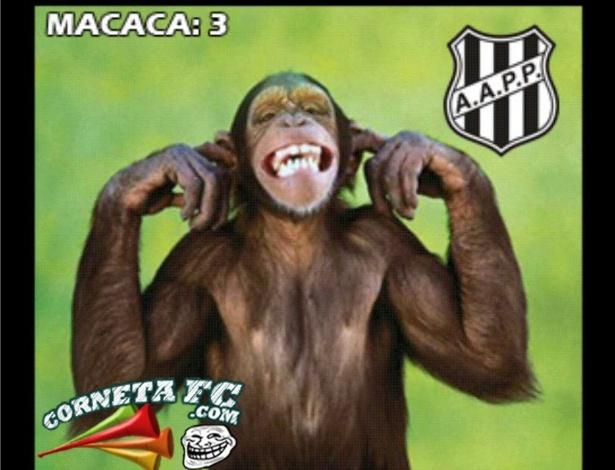Corneta FC: Macaca é melhor que mico