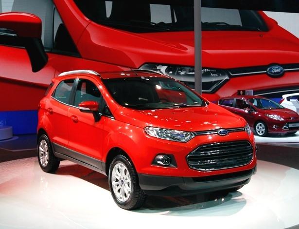 Ford EcoSport na China: carro de produção é muito parecido com os protótipos já exibidos