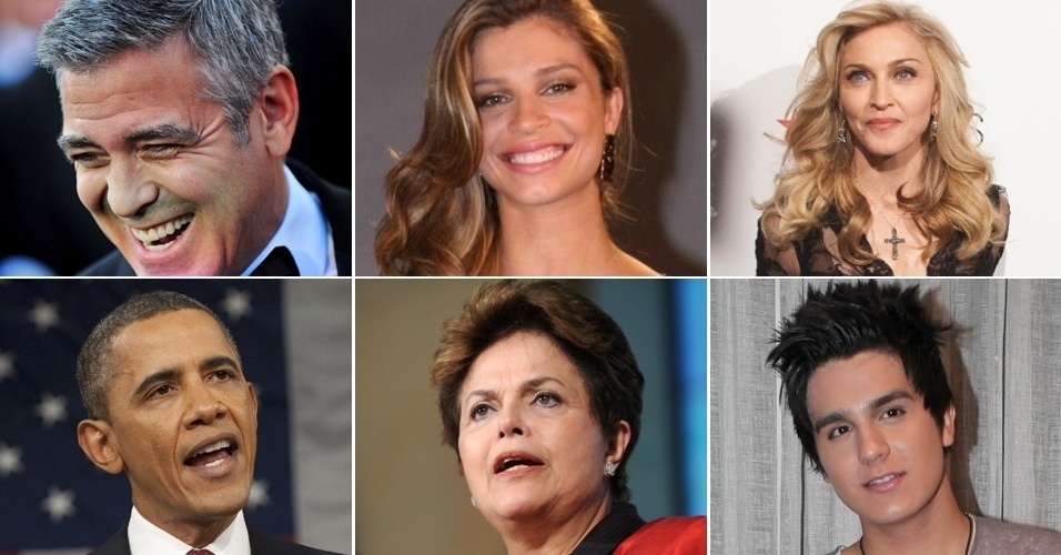 Mosaico celebridades - dia do livro
