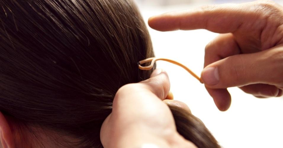 cabelo repartido